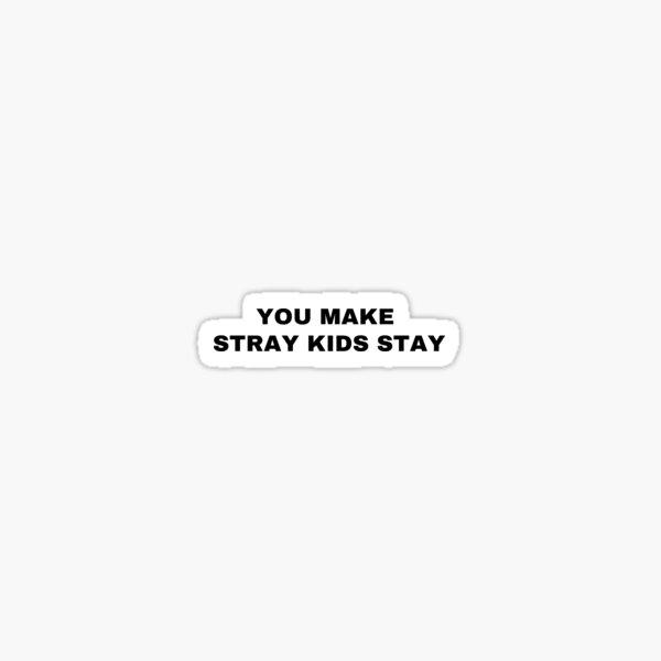 Stray Kids District 9: Unlock (vous faites rester les enfants errants) Sticker