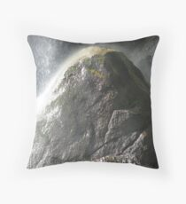 Grizzly Falls Impact Zone Throw Pillow
