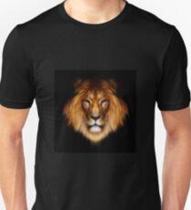 artistic lion portrait Unisex T-Shirt