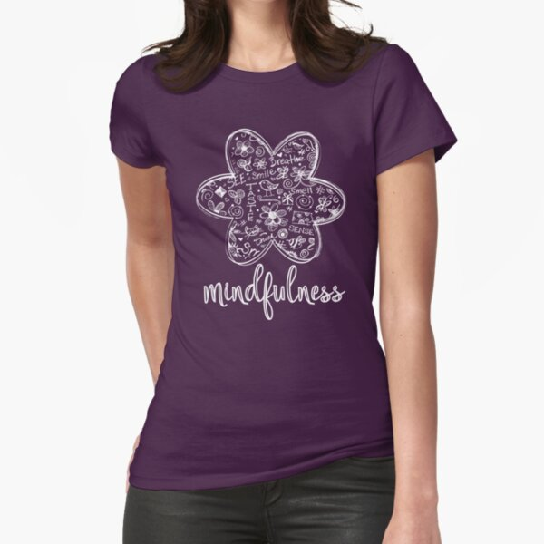 Mindfulness Fitted T-Shirt