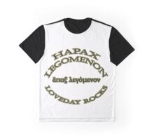 Hapax legomenon #1 Graphic T-Shirt