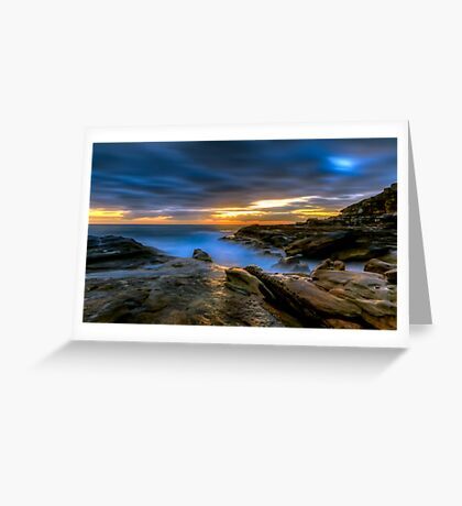Illuminated Rock Greeting Card