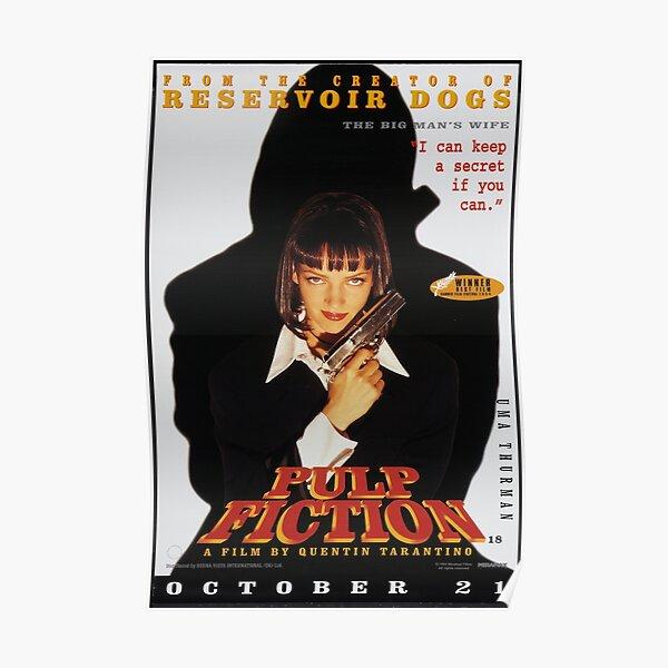 Póster de Pulp Fiction - Uma Thurman Póster