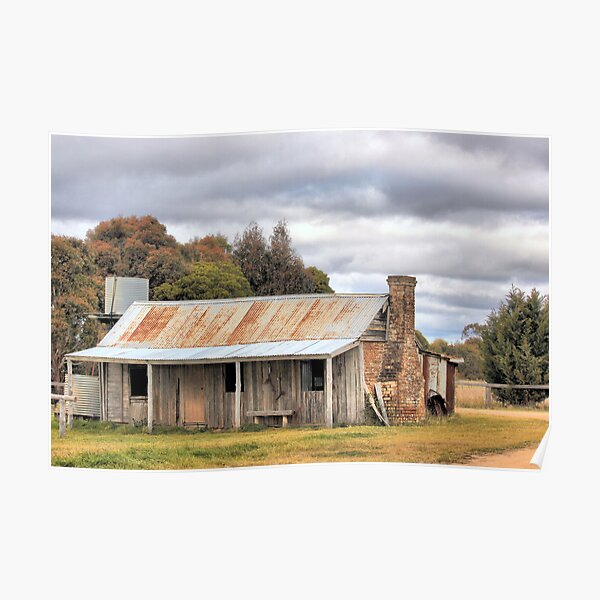 Old Homestead Bungendore  NSW Poster