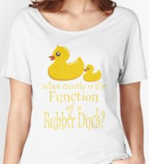 Rubber Ducky Women's Relaxed Fit T-Shirt