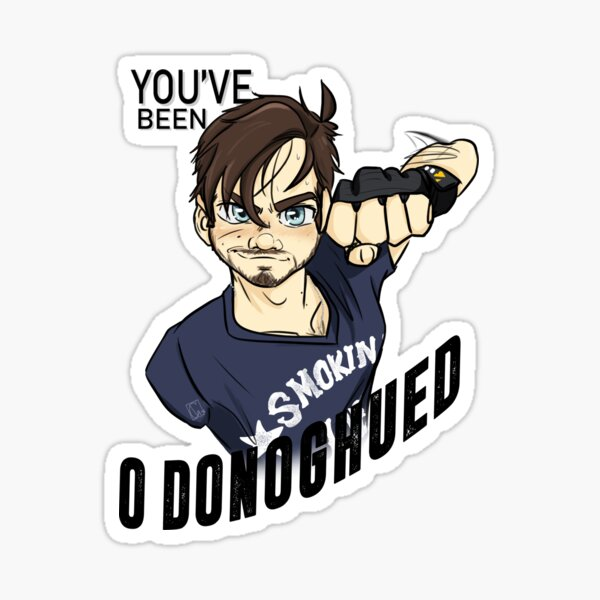 You've been O'Donoghued Sticker