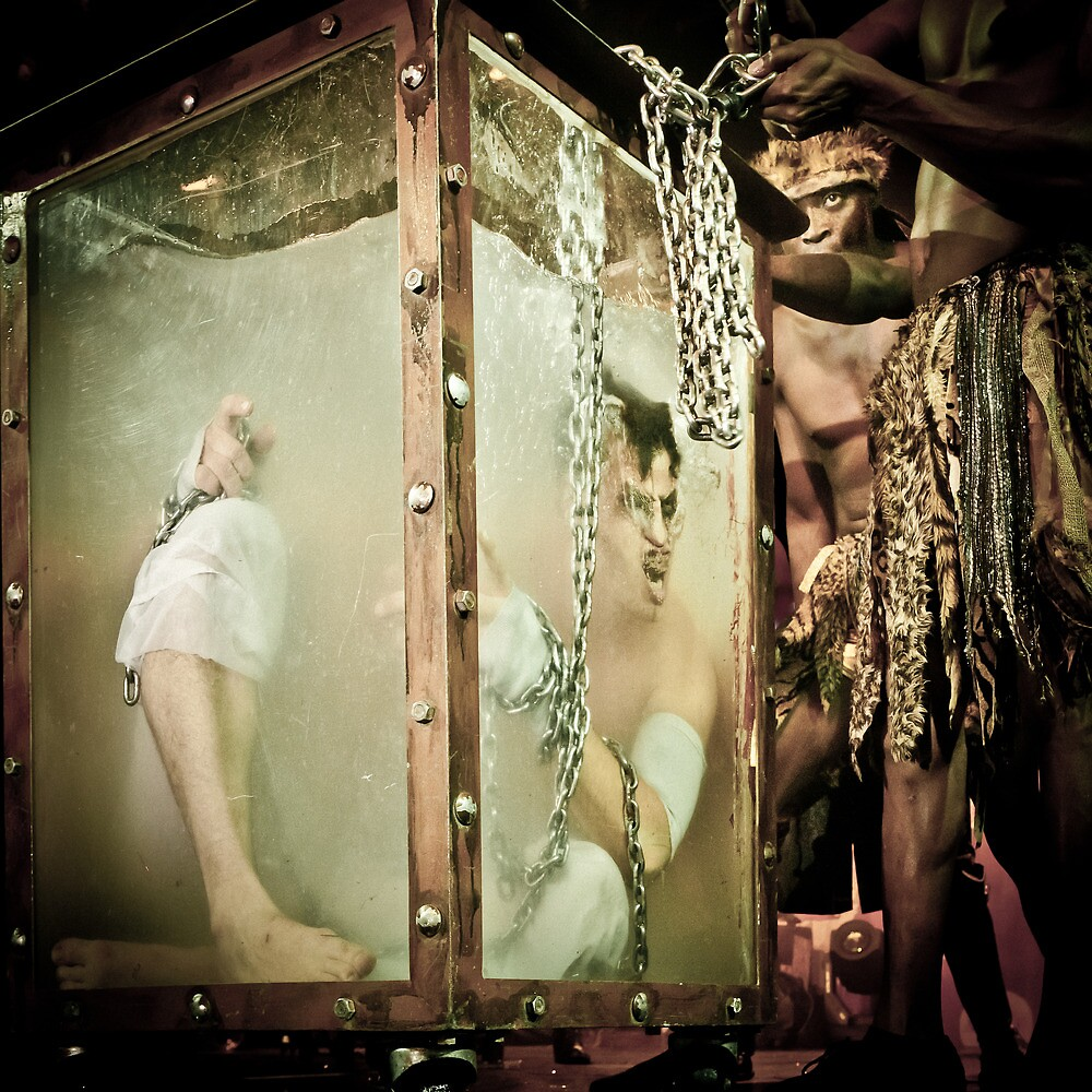 Escapologist - Circus of Horrors by Heather Buckley