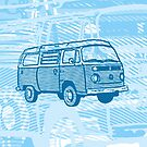 Blue Bay Campervan Dub-U (please see description) by Ra12