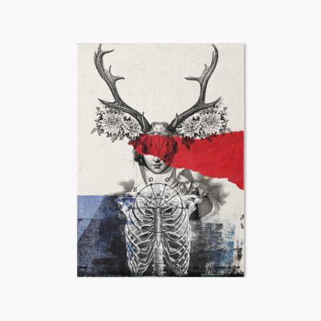 Revelacionesen el encierro Art Board Print