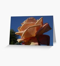 Proud Against the Blue Sky Greeting Card