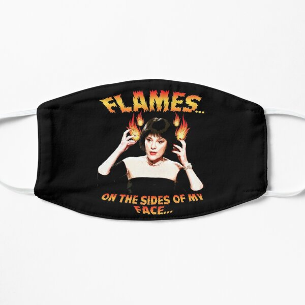 Clue Mrs White Flames Mask