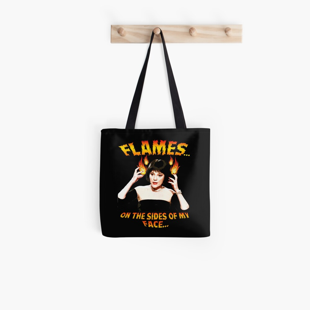 Clue Mrs White Flames Tote Bag