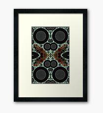 Kreise Framed Print
