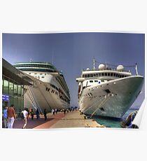 Kuşadası Cruise Terminal Poster