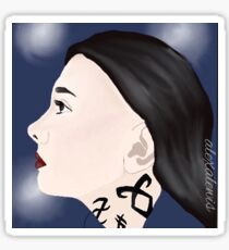 The Mortal instruments Isabelle Lightwood Sticker