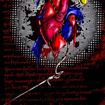 Stitched Heart by ArtByJuan