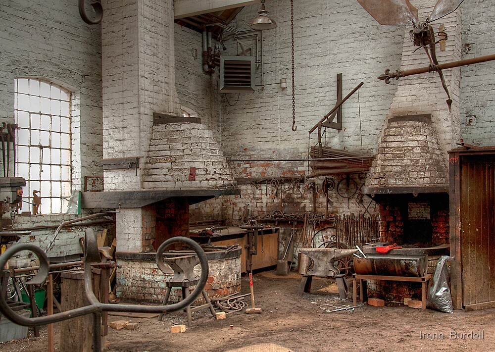 The Forge by Irene  Burdell