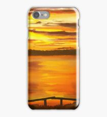 Heat of the Night, Sunset  iPhone Case/Skin