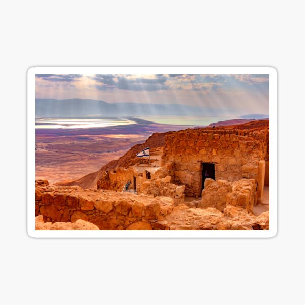 The Triumph and Tragedy of Masada Sticker