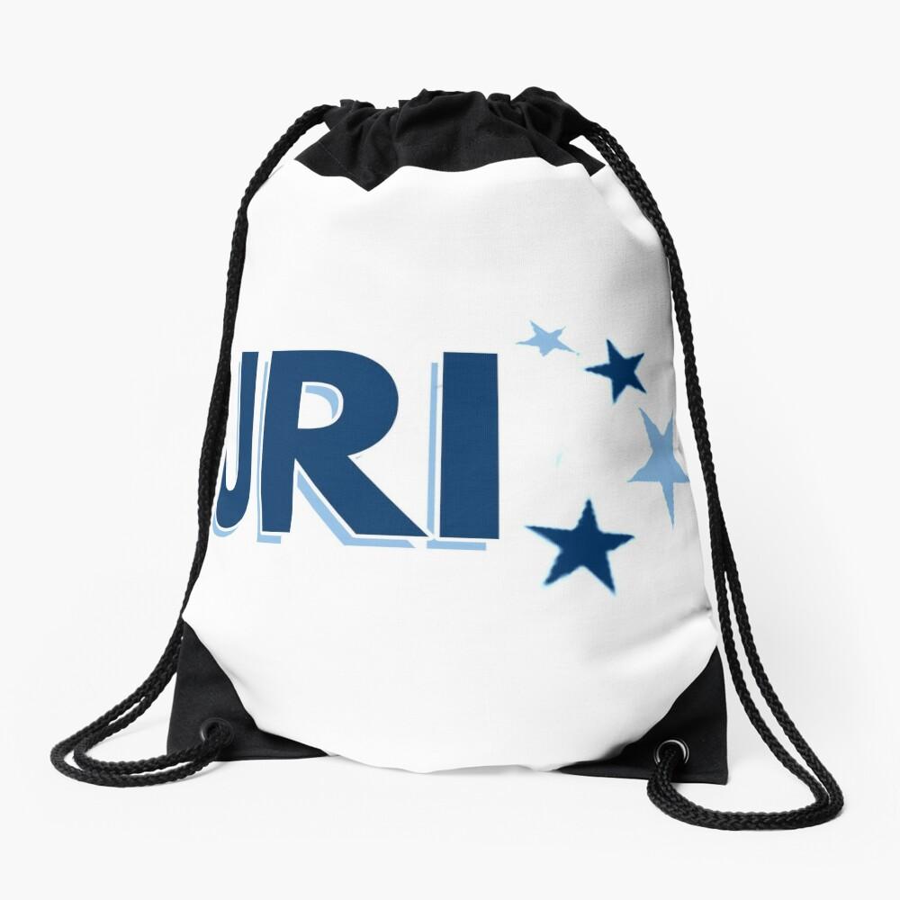 URI stars Drawstring Bag