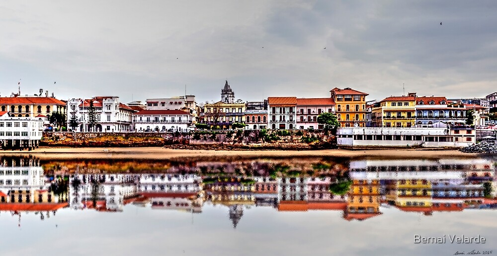 Reflections of the Old Quarters in Panama by Bernai Velarde PCE 3309