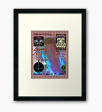 SWAMI @ Bushwackers Saloon Flyer Framed Print