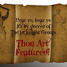 1st Knight banner 2012 featured in a group by patjila