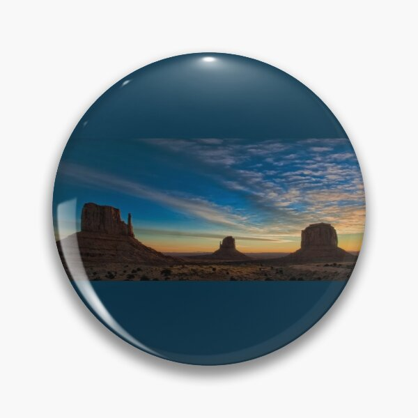Sunrise on Monument Valley Pin