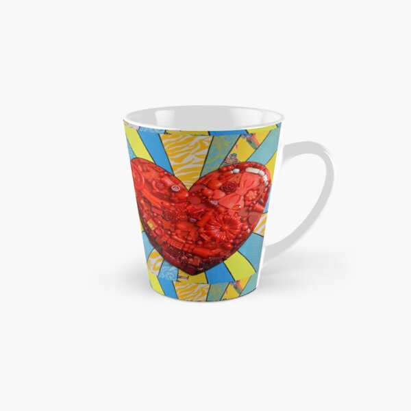 pop heart Tall Mug