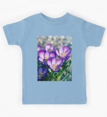 Crocus is the present of spring. Kids Tee