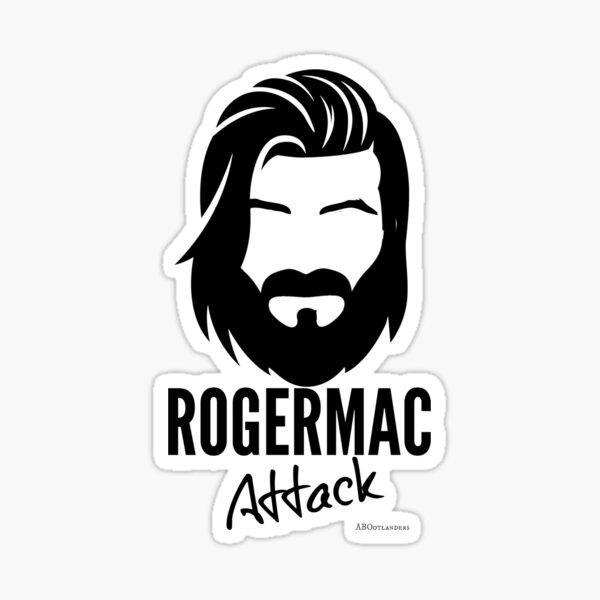 RogerMac Attack Sticker