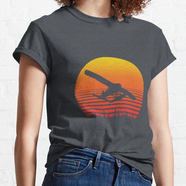 Retro deHavilland Beaver DHC-2 flaotplane Classic T-Shirt