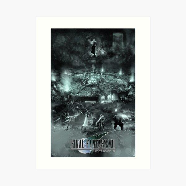 Final Fantasy VII Art Print