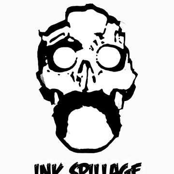 ink Spillage T by inkspillage
