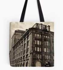 The Courier Offices  In Dundee , Scotland Tote Bag
