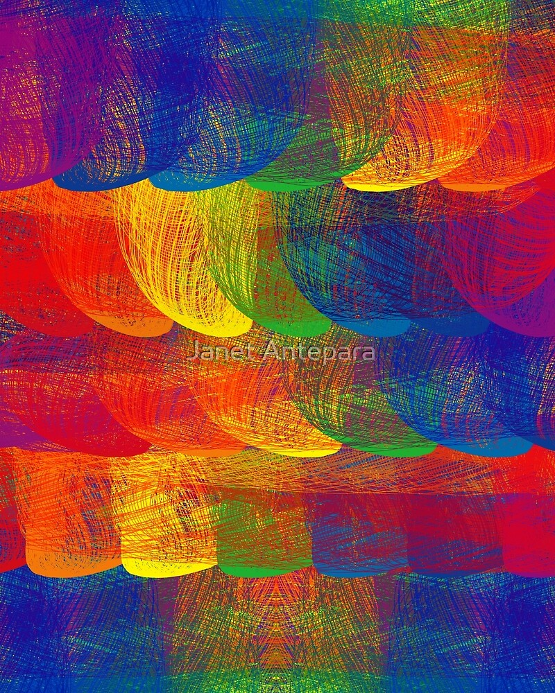 Rainbow Patch by Janet Antepara