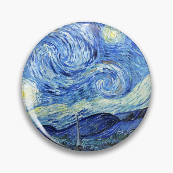 The Starry Night - Vincent van Gogh Pin