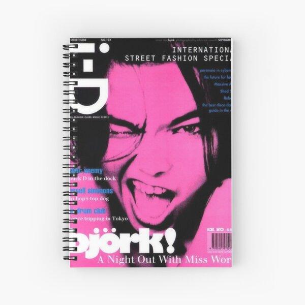 bjork pink y2k aesthetic Spiral Notebook
