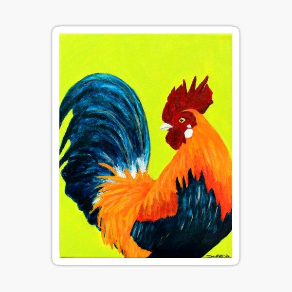Reginald The Rooster Sticker