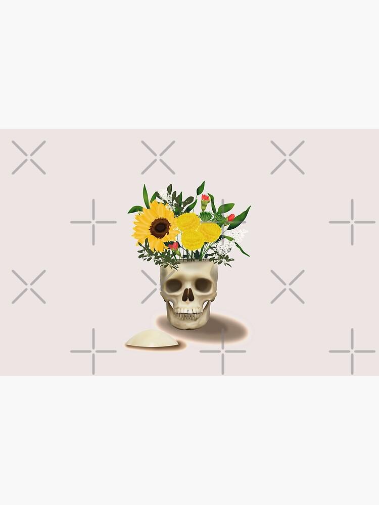 Skull Vase by kmg-design