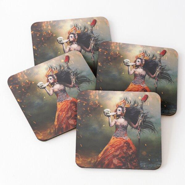 Let Us Begin Coasters (Set of 4)