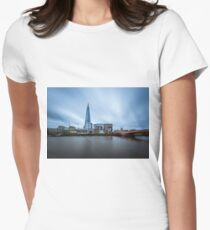 Shard Long Exposure Women's Fitted T-Shirt