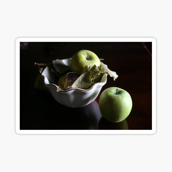 Still Life with Apples Sticker