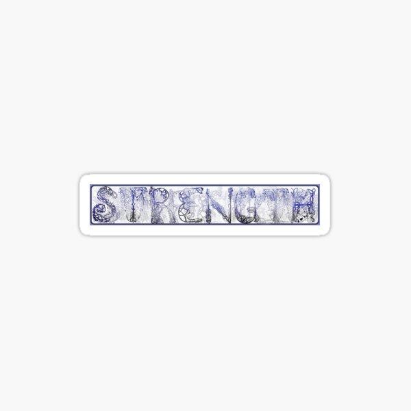 Strength Sticker