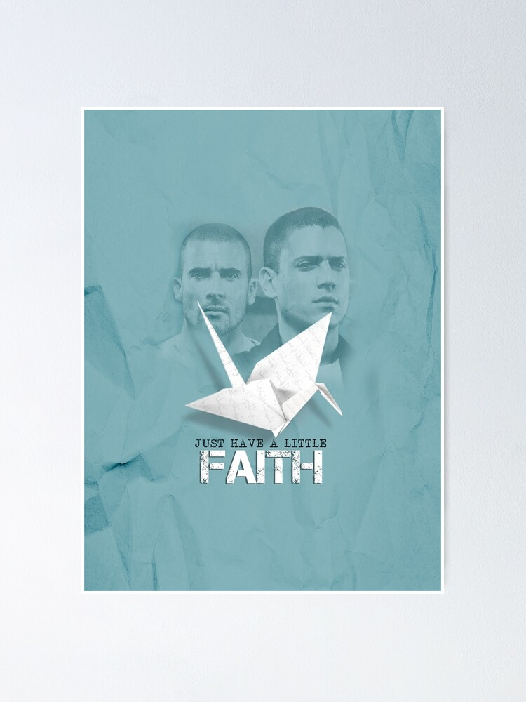Alternate view of Prison Break - Michael and Linc Faith Poster