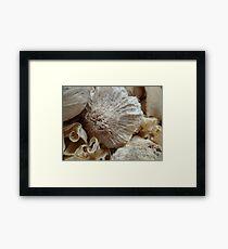 wood art 2 Framed Print