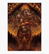 Zombie Pigman Photographic Print