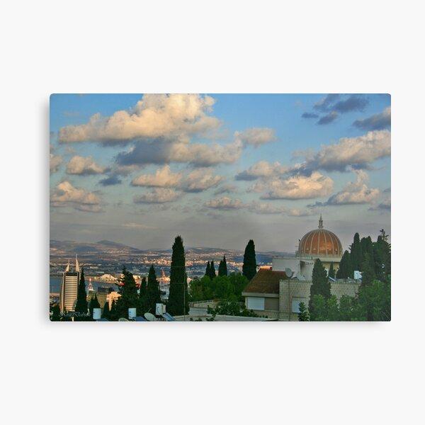Haifa Metal Print