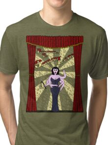 The Spider Lady Takes The Stage Tri-blend T-Shirt