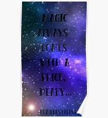 Magic always comes with a price... Poster